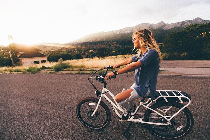 Spalanie niechcianych kilogramów podczas jazdy na rowerze