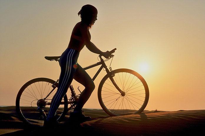 męskie spodnie rowerowe